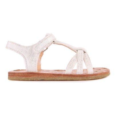 Easy Peasy Sandales Cuir Croisées Lulu-listing
