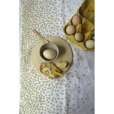 Maison Georgette Polka Dot Linen Tea Towel-listing