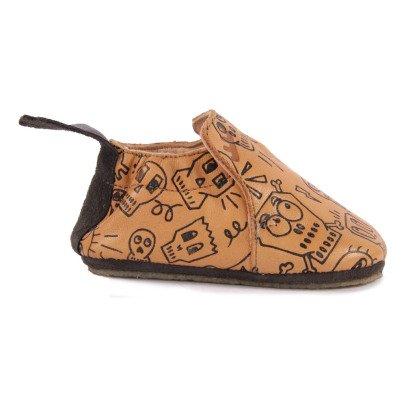 Easy Peasy Pantofole Pelle Pirata-listing
