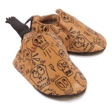 Easy Peasy Pirate Blublu Leather Slippers-listing