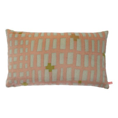 Maison Georgette Large Rectangle Velvet Cushion-listing