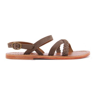 Hartford Plaited Leather Sandals-product