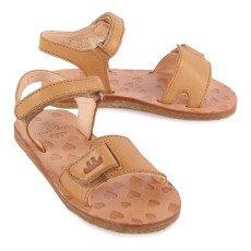 Easy Peasy Dada Velcro Leather Sandals-listing