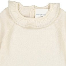 Louis Louise Pull Laine et Cachemire Col Rebecca-listing