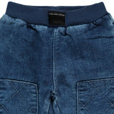 Little Marc Jacobs Baby Sweat Trousers with Knee Patches-listing
