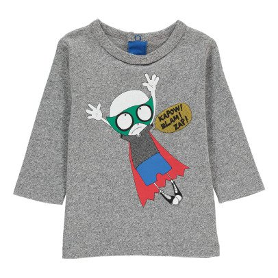 Little Marc Jacobs Baby Boy Mr Marc Heroes T-Shirt-listing