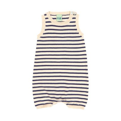 FUB Organic Cotton Striped Romper-product