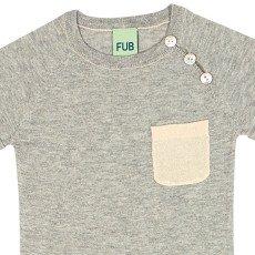 FUB Kurzer Overall aus Bio-Baumwolle -listing