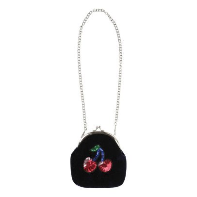 Little Marc Jacobs Velour Sequin Cherry Bag-listing