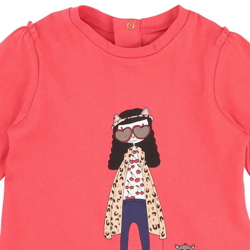 Little Marc Jacobs Miss Marc Baby T-Shirt-product