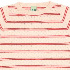 FUB Hemstitch Organic Cotton Striped Jumper-listing