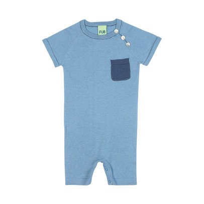 FUB Organic Cotton Playsuit with Contrasting Pocket-product