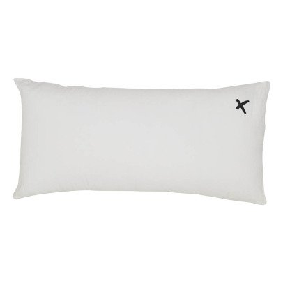 """Bed and philosophy """"Lovers"""" Embellished Washed Linen Cushion - 55x110cm-listing"""