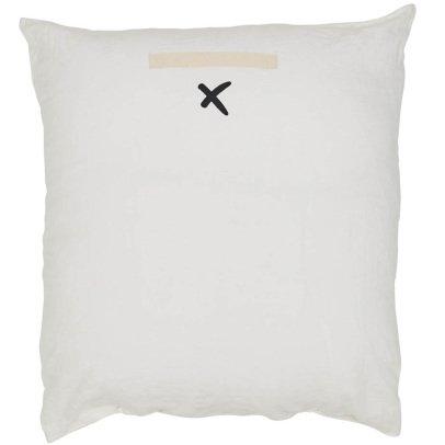 Bed and philosophy Cojín en lino lavado serigrafiado 80x80 cm-listing