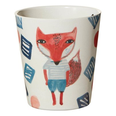 Donna Wilson Fox Bamboo Fibre Cup-listing
