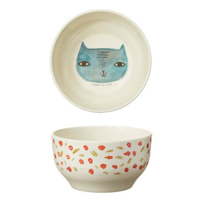 Donna Wilson Cat Bamboo Fibre Bowl-listing