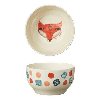 Donna Wilson Fox Bamboo Fibre Bowl-product