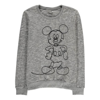 Little Eleven Paris Bromick Mickey Embroidered Sweatshirt-listing