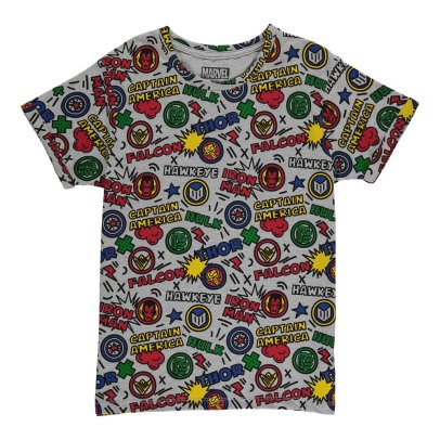 Little Eleven Paris T-Shirt Oversize All Over Pop-listing