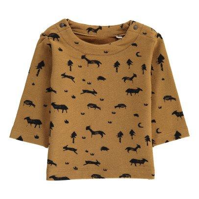 Imps & Elfs Organic Cotton Animals Allover Sweatshirt-listing