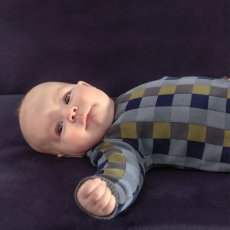 Imps & Elfs Checked Patchwork Pullover-listing