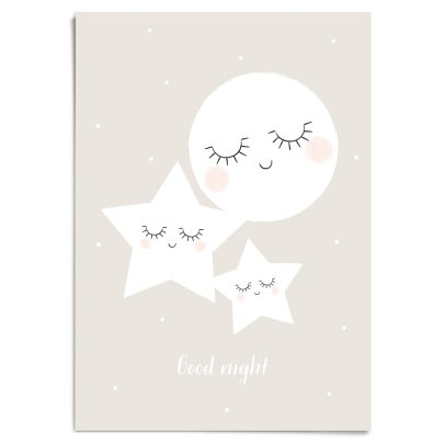 Zü A3-Poster Good Night-listing