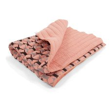 Moumout Cotton quilted plaid with deer pattern-listing