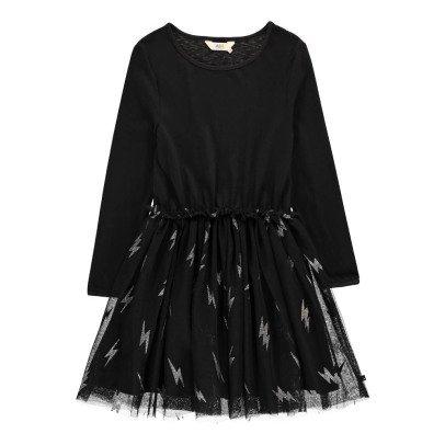 Little Eleven Paris Robe Bas Tulle Eclairs Lurex Ramones-listing