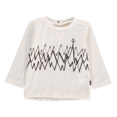 Imps & Elfs T-Shirt Zig Zag Coton Bio-listing