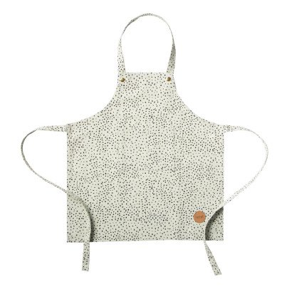 Ferm Living Children's Green Polka Dot Apron-listing