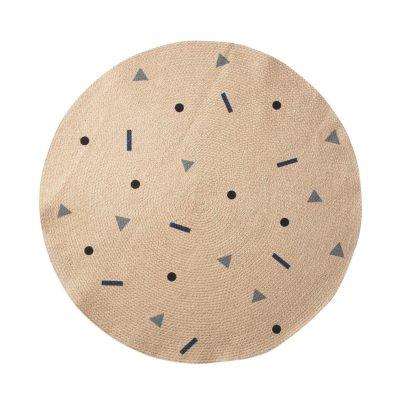 Ferm Living Teppich- Rund -listing