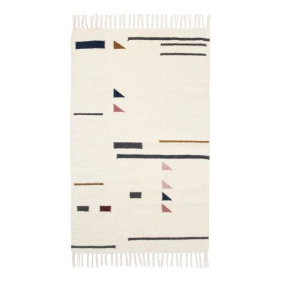 Ferm Living Tapis Kelim triangles-listing