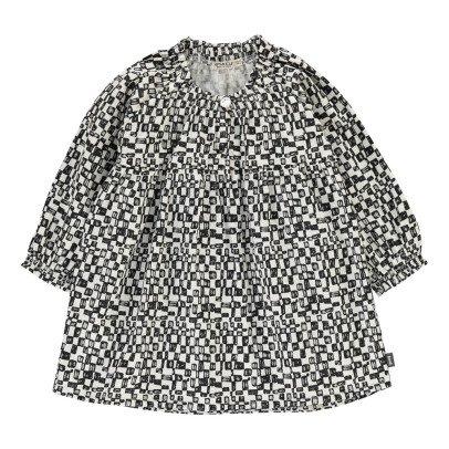Imps & Elfs Organic Cotton Checked Dress-listing