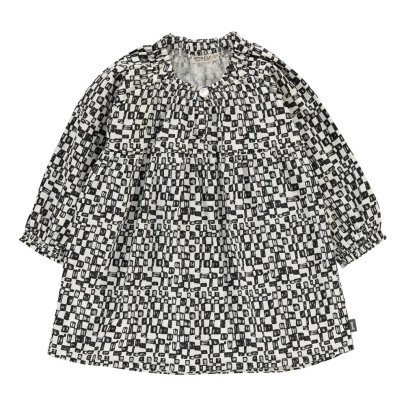 Imps & Elfs Robe à Carreaux Coton Bio-listing
