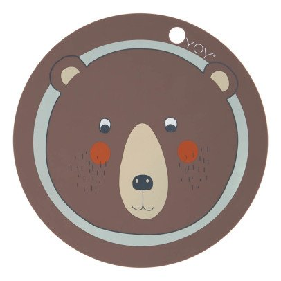 Oyoy Bear Children's Placemat-listing