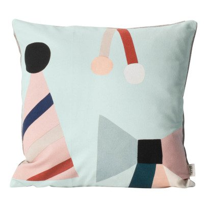 Ferm Living Cuscino Party Cotone organico-listing