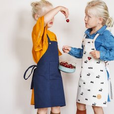 Ferm Living Children's Pink Rabbit Apron-listing