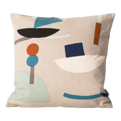 Ferm Living Organic Cotton Seaside Cushion-listing