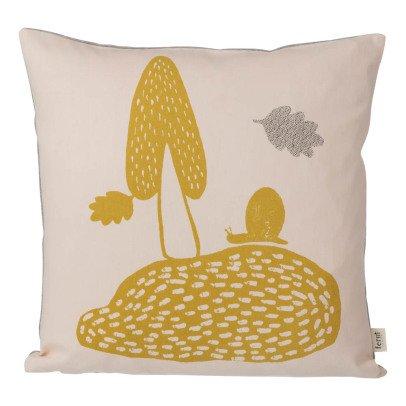 Ferm Living Coussin Landscape en coton organique-listing