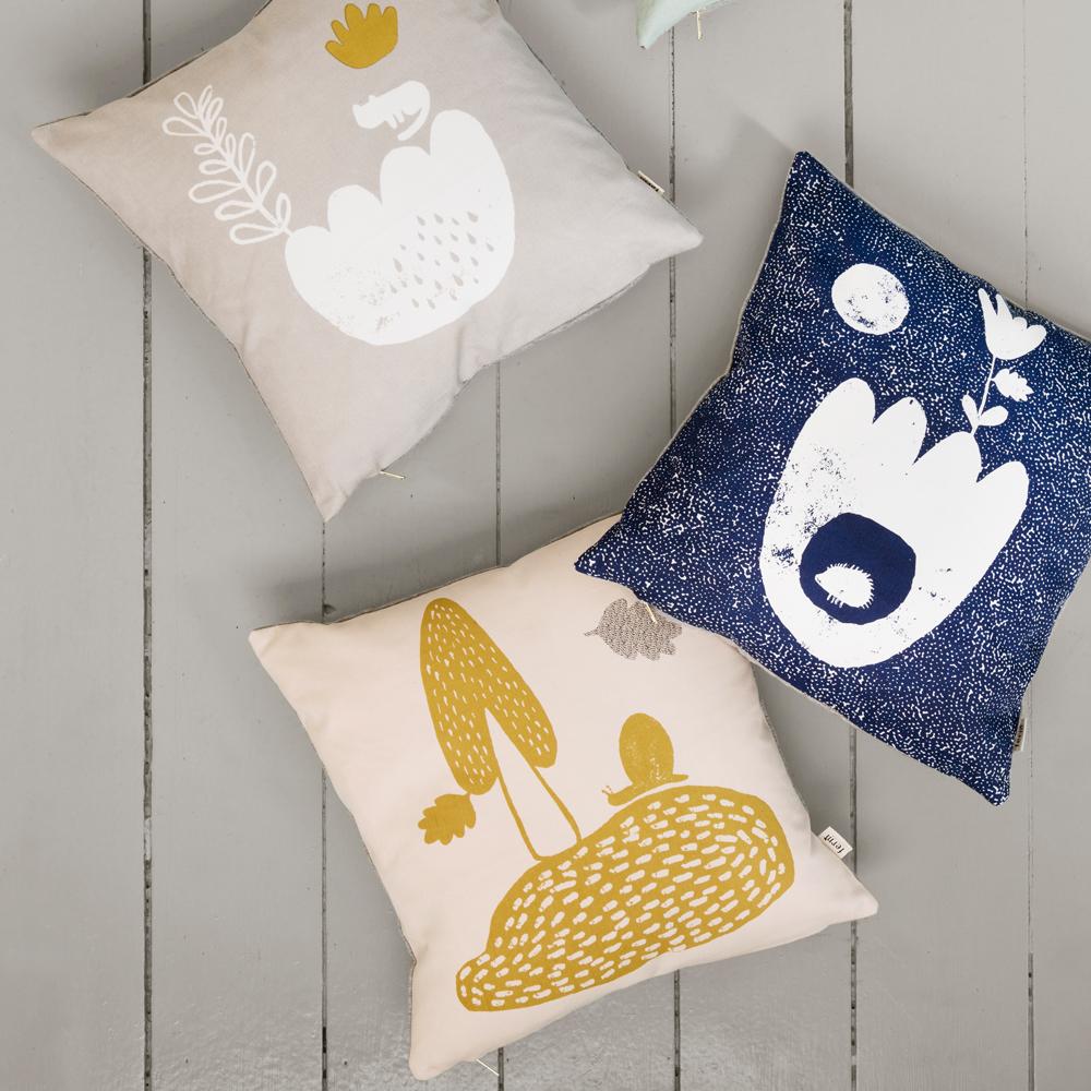Ferm Living Organic Cotton Landscape Cushion-product