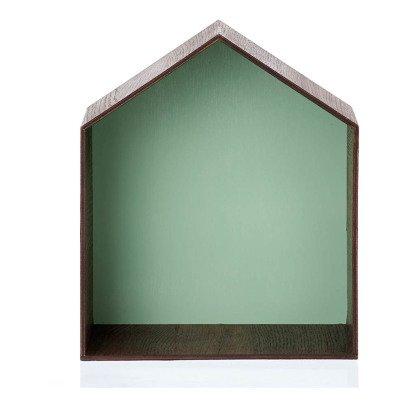 Ferm Living Estante casa verde-listing