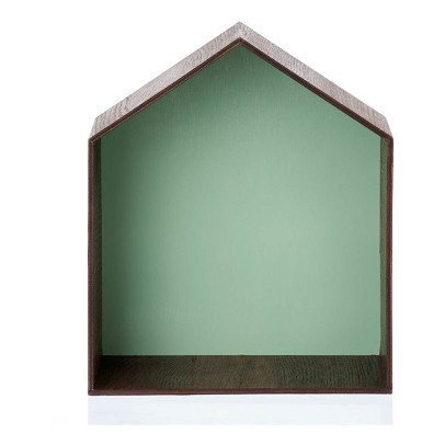 Ferm Living Green House Shelf-listing