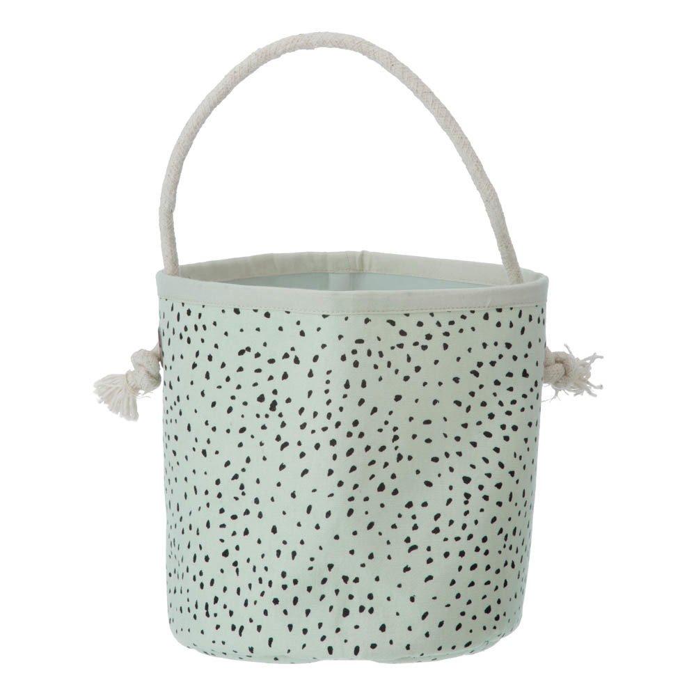 Ferm Living Mini Green Polka Dot Basket-product