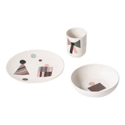 Ferm Living Set vaisselle Party en bambou-listing