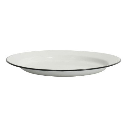 Smallable Home Enamel Plate-listing