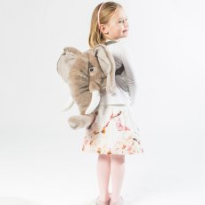 Wild & Soft Bibib Mochila peluche Elefante-listing