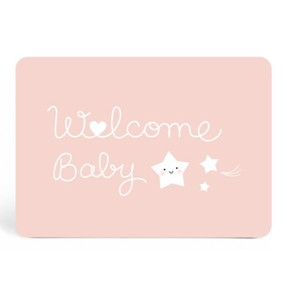 Zü Welcome Baby Simple Card-listing