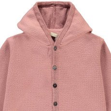 Poppy Rose Antoine Merino Wool Hooded Jumpsuit Powder pink-listing