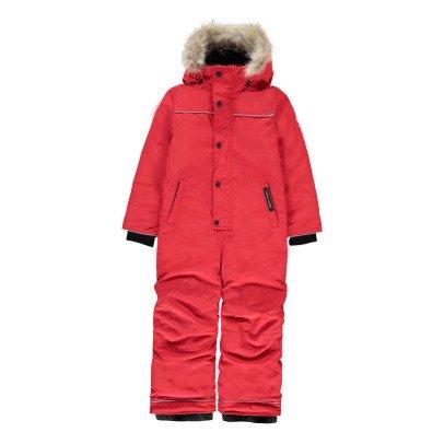 Canada Goose Combinaison de Ski Grizzly Rouge-listing