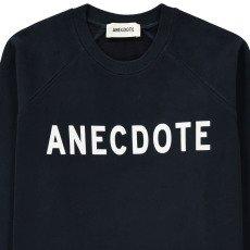 "ANECDOTE Sweat ""ANECDOTE"" Do Bleu marine-listing"